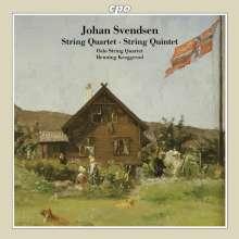 Johan Svendsen (1840-1911): Streichquintett op.5, CD