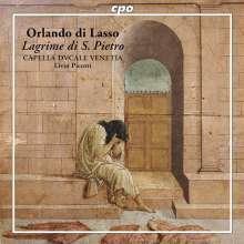 Orlando di Lasso (Lassus) (1532-1594): Lagrime di San Pietro, CD