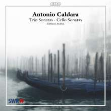 Antonio Caldara (1671-1736): Triosonaten & Cellosonaten, CD