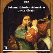 Johann Heinrich Schmelzer (1623-1680): 14 Sonate & Balletti, CD
