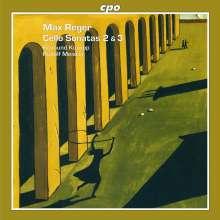 Max Reger (1873-1916): Sonaten für Cello & Klavier Nr.2 & 3, CD