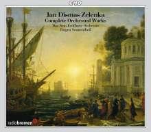 Jan Dismas Zelenka (1679-1745): Sämtliche Orchesterwerke Vol.1-3, 3 CDs