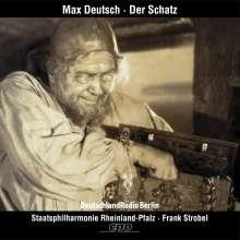 """Max Deutsch (1892-1982): Filmsymphonie """"Der Schatz"""", CD"""