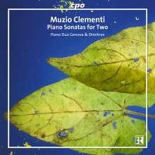 Muzio Clementi (1752-1832): Sonaten für 2 Klaviere & zu 4 Händen, CD