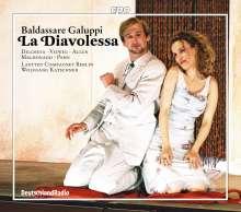 Baldassare Galuppi (1706-1785): La Diavolessa, 2 CDs