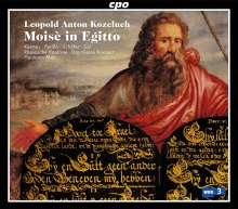 Leopold Kozeluch (1747-1818): Moses in Ägypten, 2 CDs