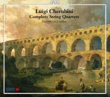 Luigi Cherubini (1760-1842): Streichquartette Nr.1-6, 3 CDs