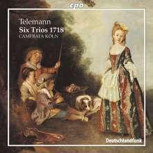 Georg Philipp Telemann (1681-1767): Triosonaten 1718, CD