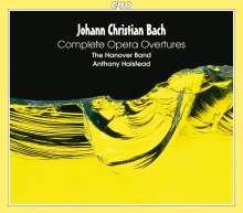 Johann Christian Bach (1735-1782): Sämtliche Ouvertüren zu Opern, 3 CDs