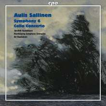 "Aulis Sallinen (geb. 1935): Symphonie Nr.6 op.65 ""From a New Zealand Diary"", CD"