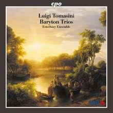 Luigi Tomasini (1741-1808): Baryton-Trios Korcak 19,20,27,33,34, CD