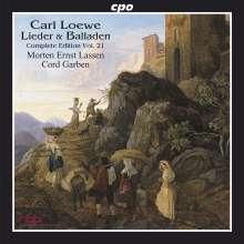Carl Loewe (1796-1869): Sämtliche Balladen & Lieder Vol.21, CD
