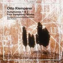 Otto Klemperer (1885-1973): Symphonien Nr.1 & 2, CD