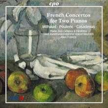 Französische Konzerte für 2 Klaviere & Orchester, CD