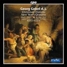 Georg Gebel (1709-1753): Weihnachtsoratorium (1748), CD
