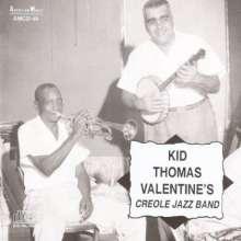 Kid Thomas: Valentins Creole Jazz Band, CD