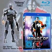 RoboCop - Die Serie (Geschenkset mit Figur) (Blu-ray), 2 Blu-ray Discs und 1 Merchandise