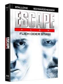Escape Plan (Blu-ray & DVD im Mediabook), 1 Blu-ray Disc und 1 DVD