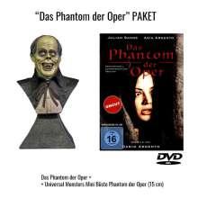 Das Phantom der Oper (1998) (Limited Edition mit Universal Monsters Mini Büste), 1 DVD und 1 Merchandise