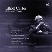 Elliott Carter (1908-2012): Quintett für Klavier & Bläser, CD