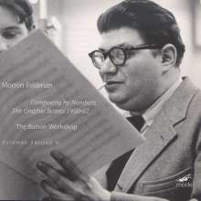Morton Feldman (1926-1987): Composing by Numbers - The Graphic Scores 1950-1967, CD