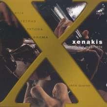 Iannis Xenakis (1922-2001): Sämtliche Streichquartette, CD