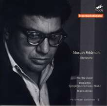 Morton Feldman (1926-1987): Orchestra, CD