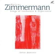 Walter Zimmermann (geb. 1949): Songs of Innocence & Experience für Streichquartett & Tape, 2 CDs