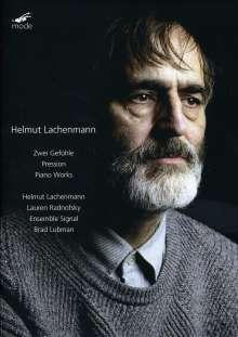 """Helmut Lachenmann (geb. 1935): """"...Zwei Gefühle..."""", Musik mit Leonardo für Sprecher & Ensemble, DVD"""