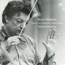 Bruno Maderna (1920-1973): Flötenkonzert, CD