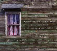 Yvar Mikhashoff - Panorama of American Piano Music, 4 CDs