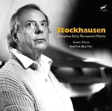 Karlheinz Stockhausen (1928-2007): Werke für Percussion, 2 CDs