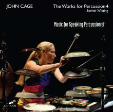 John Cage (1912-1992): Works for Percussion 4, CD