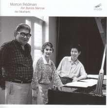 Morton Feldman (1926-1987): For Bunita Marcus für Klavier, CD