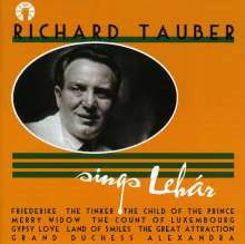 Richard Tauber sings Lehar, CD