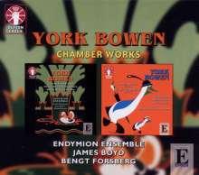 York Bowen (1884-1961): Kammermusik, 2 CDs