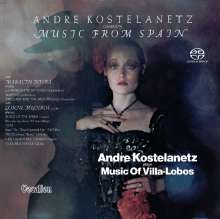 Andre Kostelanetz conducts Music from Spain, SACD