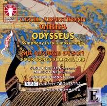 "Cecil Armstrong Gibbs (1889-1960): Symphonie ""Odysseus"", CD"