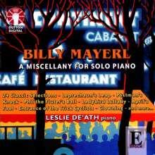 Billy Mayerl (1902-1959): 24 Klavierstücke, CD
