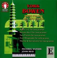 York Bowen (1884-1961): Werke für Klavier & 2 Klaviere, CD
