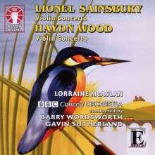Lionel Sainsbury (geb. 1958): Violinkonzert op.14, CD