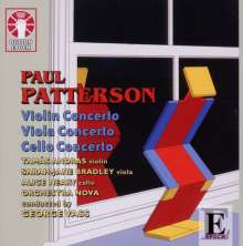 Paul Patterson (geb. 1947): Violinkonzert op.72, CD