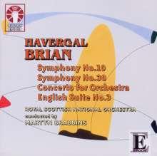 Havergal Brian (1876-1972): Symphonien Nr.10 & 30, CD