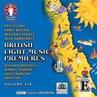 British Light Music Premieres Vol.6, CD