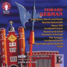 Edward German (1862-1936): Orchesterwerke, CD