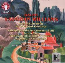 Ralph Vaughan Williams (1872-1958): Early and Late Works, CD