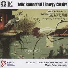 Georges Catoire (1861-1926): Symphonie op.7, CD