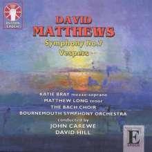 David Matthews (geb. 1943): Symphonie Nr.7, CD