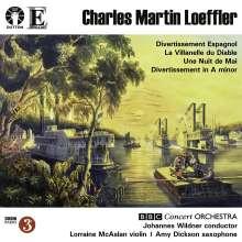 Charles Martin Loeffler (1861-1935): Une Nuit de Mai für Violine & Orchester, CD