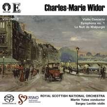 Charles-Marie Widor (1844-1937): Symphonie Nr.1 op.16, Super Audio CD
